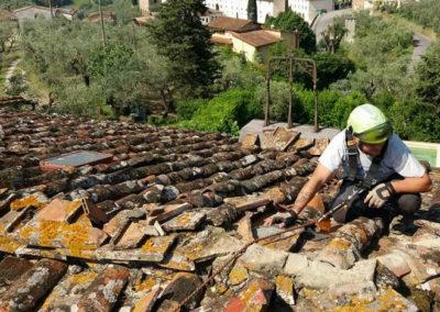 Manutenzione tegole e tetti Firenze
